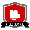 """Badge icon """"Video Camera (7187)"""" provided by Monika Ciapala, from The Noun Project under Creative Commons - Attribution (CC BY 3.0)"""